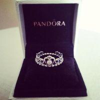 Pandora crown ring with crystal. | pandora | Pinterest ...