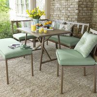 Jaclyn Smith Carrabelle 6 Piece Dining Set - Outdoor ...