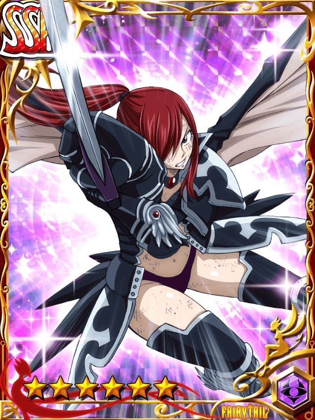 Fairy Tail Girls Wallpapers Fairy Tail Brave Guild Erza Scarlet Fairy Tail Brave