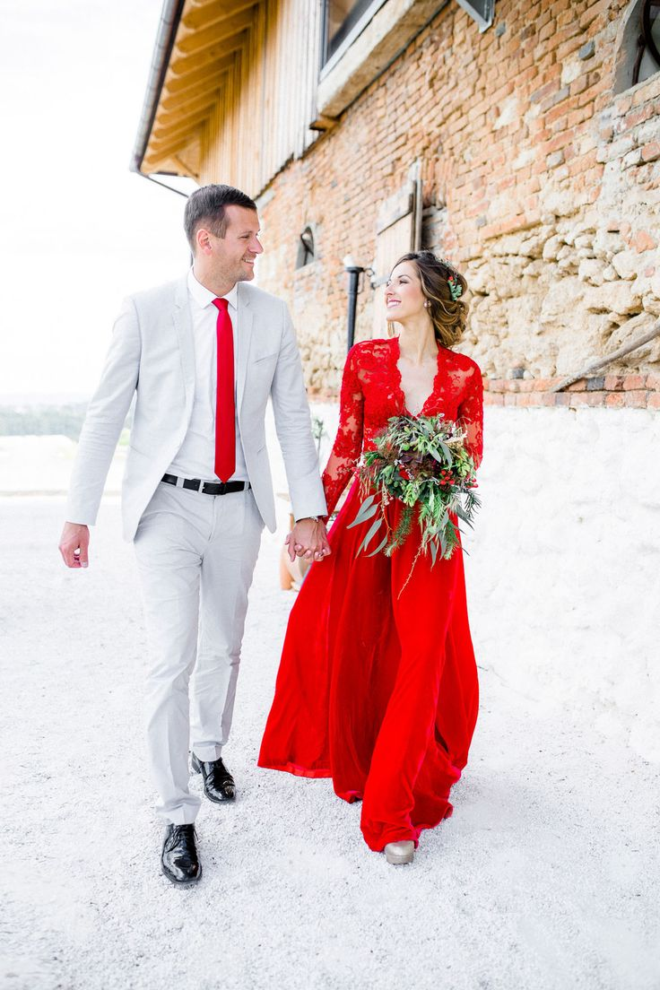 weddingdress red trouwjurk rood red wedding dresses two piece red wedding dress we are so SO in love with