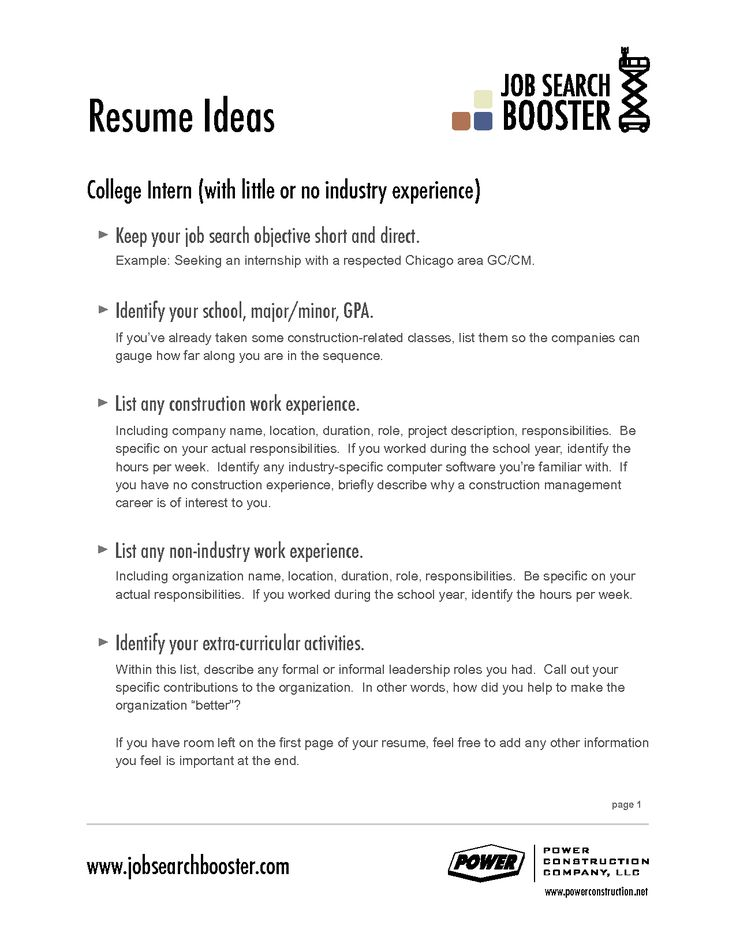 Resume Examples For Jobs With Little Experience Examples Of - work experience resume examples