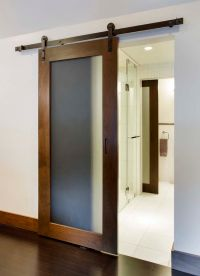 Barn door, frosted glass | Sliding Barn Doors | Pinterest ...