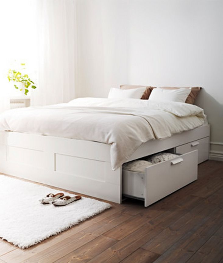 Ikea Bed Brimnes Furniture Finds: Ikea's Brimnes Bed Is The Perfect Place