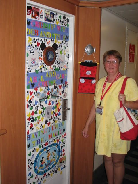 Cabin Door Decorations!