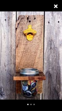 25+ best ideas about Wall Mounted Bottle Opener on