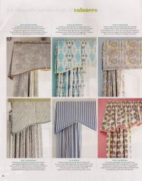 Jim Howard's Pattern Book of Valances   resources ...