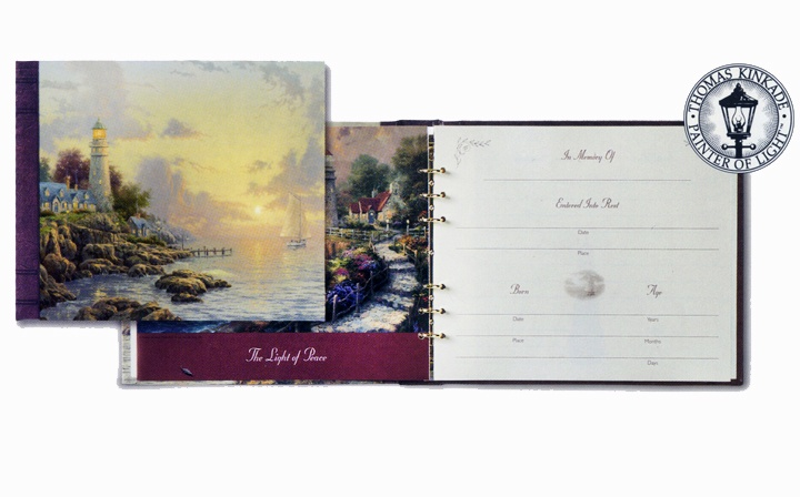 funeral guest register books