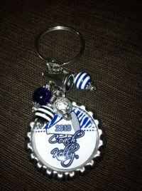 Personalized Cheer Coach Bottle Cap Key Ring - FABULOUS ...