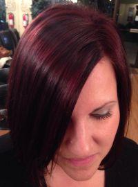 Red Hair - Mahogany hair - Rusk Red Violet Hair | Beauty ...