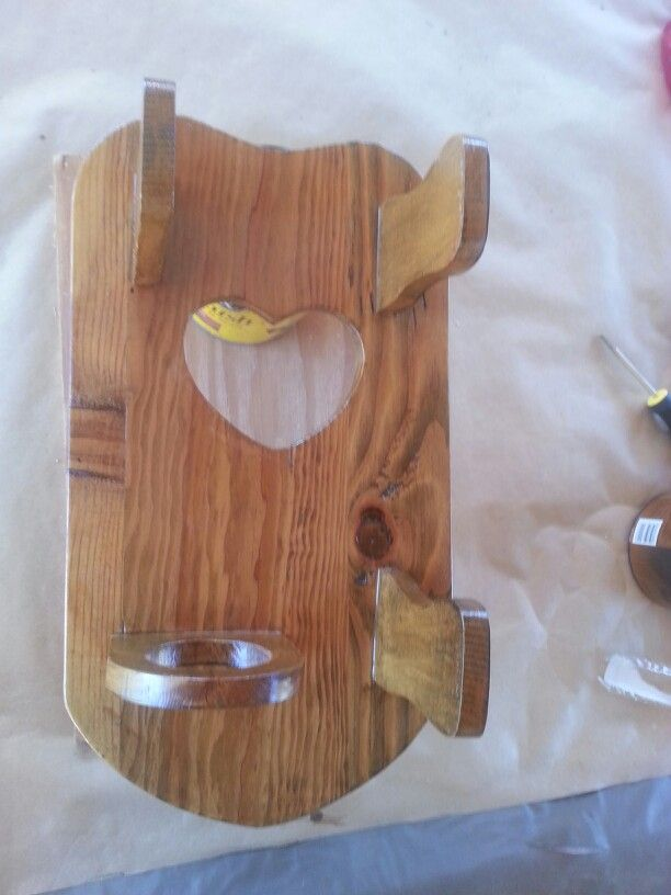 1000+ images about Wooden Hot hair appliance holders on