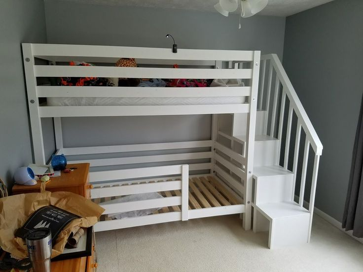Diy Bunk Bed Plans Awesome Bunk Bed With Diy Bunk Bed
