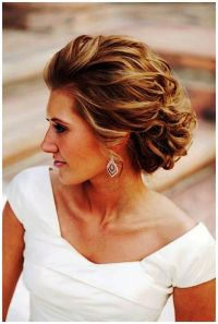 Pretty style for short to medium length hair.   Mother of ...
