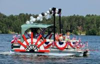 decorate pontoon 4th july - Google Search | Projects to ...