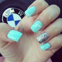 glitter & mint | Polished | Pinterest | Posts, Style nails ...