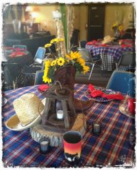 Awesome Country Western Themed Centerpieces and Table ...