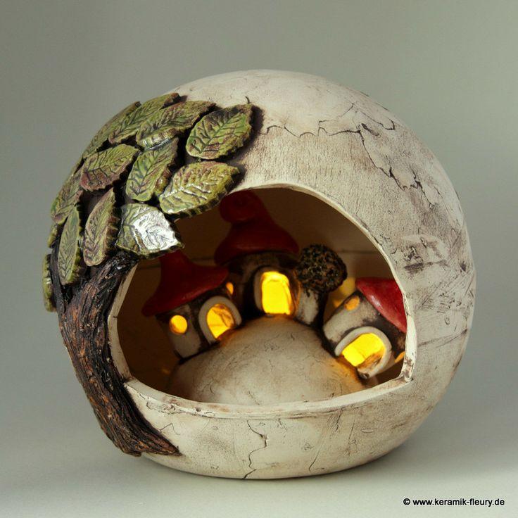 Wichtel Windlicht Fleury Kreative Keramik Für Haus Und
