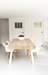 25+ best ideas about Wooden dining tables on Pinterest ...