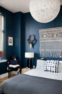 25+ Best Ideas about Dark Blue Bedrooms on Pinterest ...
