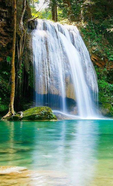 Nechar Wallpaper 3d Nature Wallpapers Download Waterfall Nature Desktop Hd