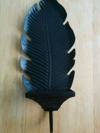 Partylite Island Escape Banana Leaf Wall Sconce | Vintage ...
