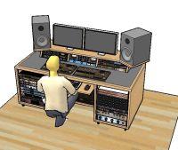 25+ best Studio Desk ideas on Pinterest   Recording studio ...