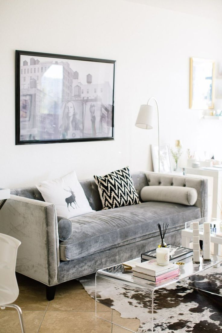 Couch Velour Lauryn's 'glam Meets Bohemian' San Diego Home | House