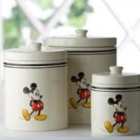 Mickey Mouse Canisters