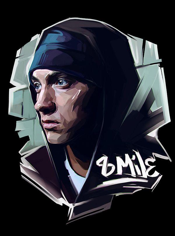 Lsd Wallpaper Iphone 6 Famous Rap Stars Illustrated By Russian Artist Viktor