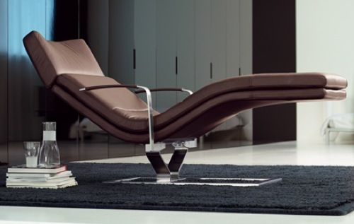 Relaxsessel Modern Leder Chaise Lounge Recliner By Rolf Benz Sit Back & Relax: 10