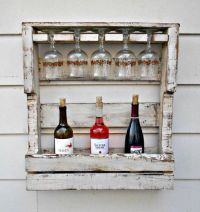 1000+ ideas about Pallet Wine Racks on Pinterest
