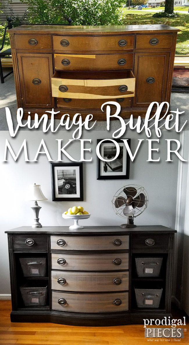 25+ best ideas about Vintage buffet on Pinterest