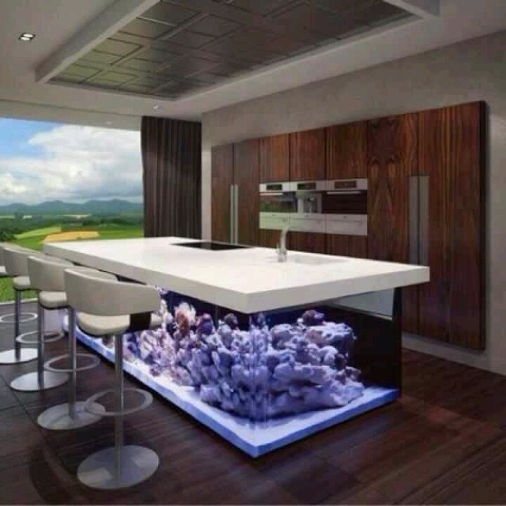 Fish Tank Bar Home Decor Man Cave Pinterest Salts Bar And To Remove
