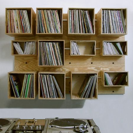 17 Best ideas about Vinyl Record Storage on Pinterest