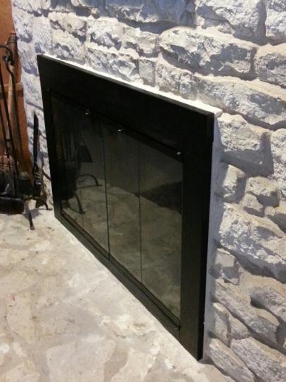 1000+ ideas about Fireplace Doors on Pinterest