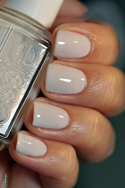 Essie Marshmallow Goes With Everything Nails Pinterest