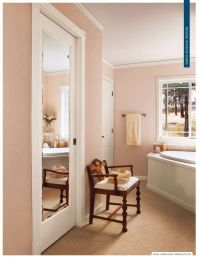 Mirrored Pocket Door - Bathroom | closets | Pinterest ...