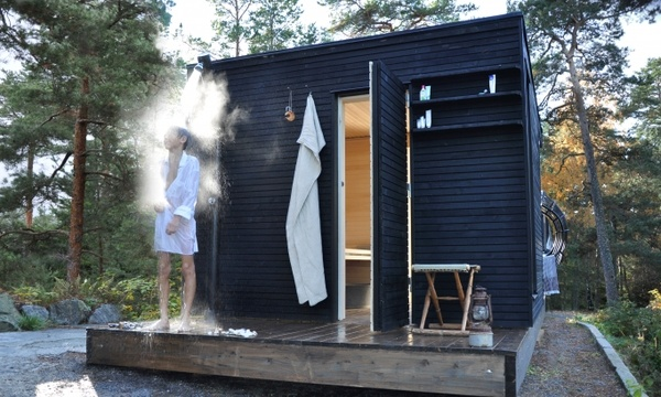 Spa Exterieur Stockholm Sauna + Outdoor Shower In Sweden | Macs Board | Pinterest