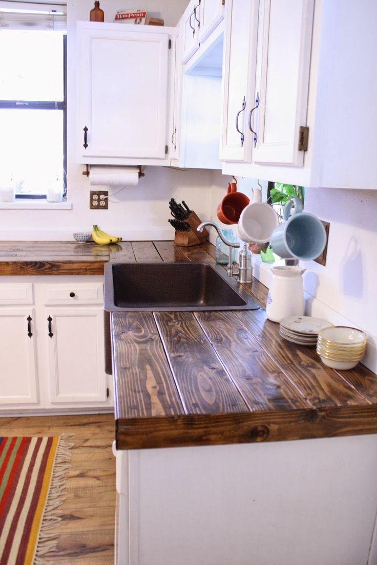 diy countertops diy kitchen ideas Cheap countertop idea More