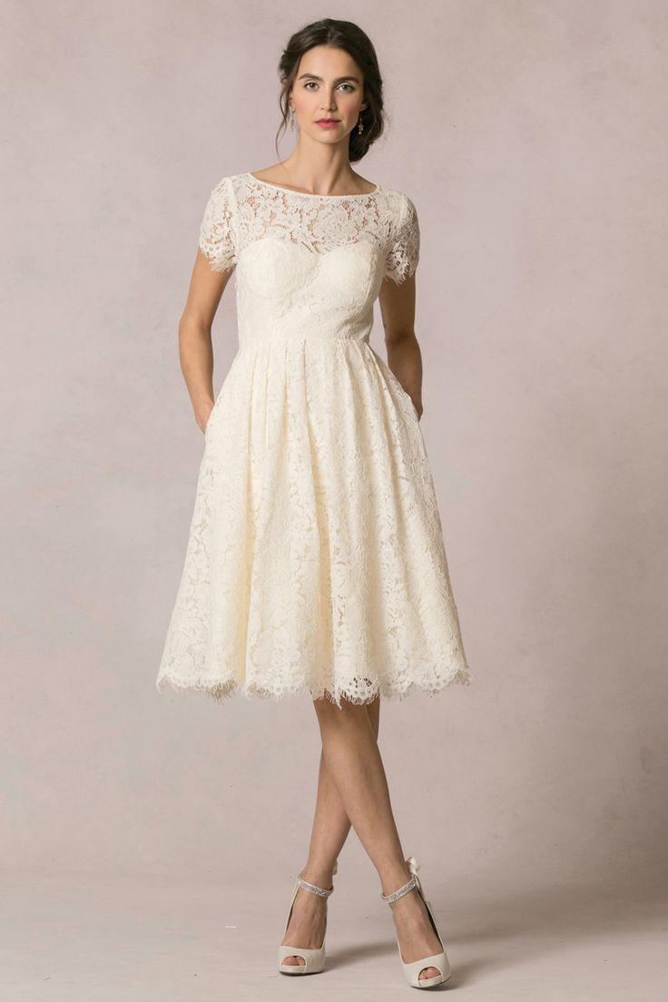casual wedding dresses white casual wedding dresses 12 Short Wedding Dresses for a Fun Casual Celebration