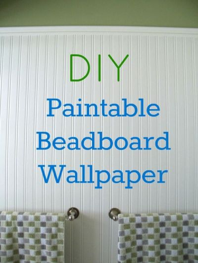 How to Install Beadboard Paintable Wallpaper | Simple ...