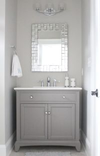 25+ best ideas about Grey Bathroom Vanity on Pinterest ...