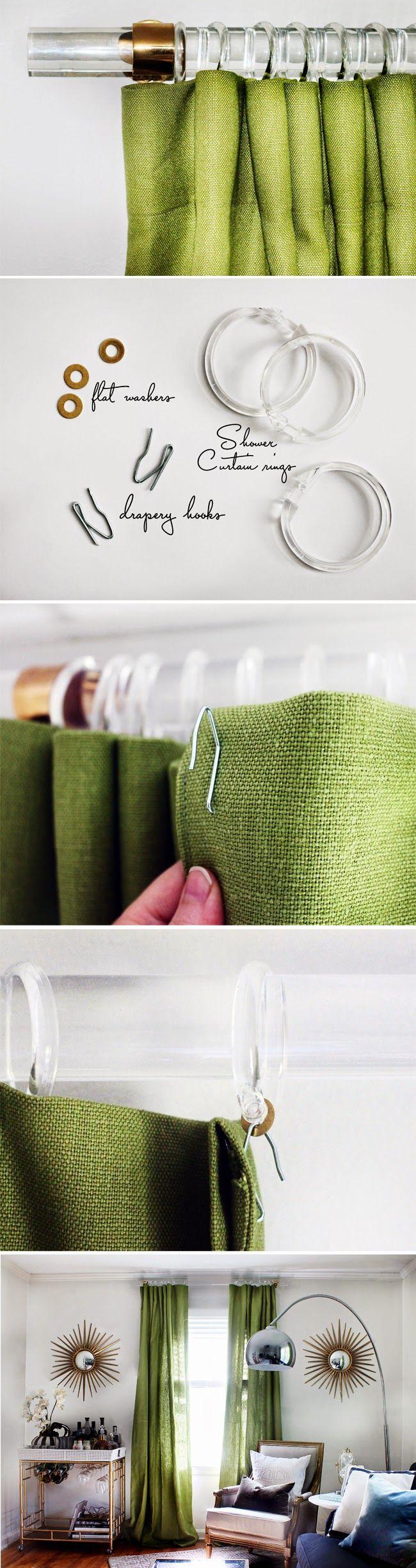 Diy outdoor curtain rods - Download