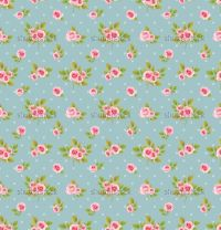 Shabby Chic Roses Background | ... of Seamless vector ...
