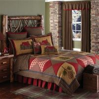 17 Best images about Rustic Lodge Bedding on Pinterest ...