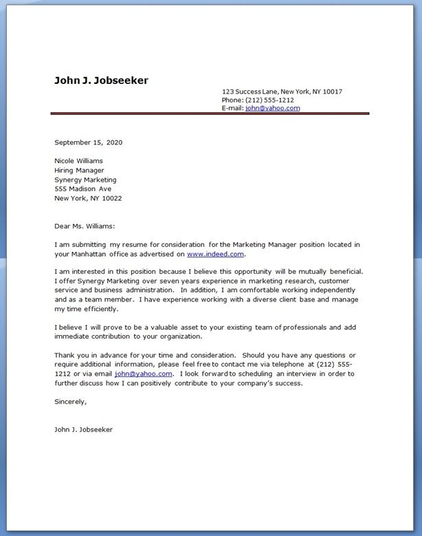 customer service representative cover letter sample with cover - ministry cover letter