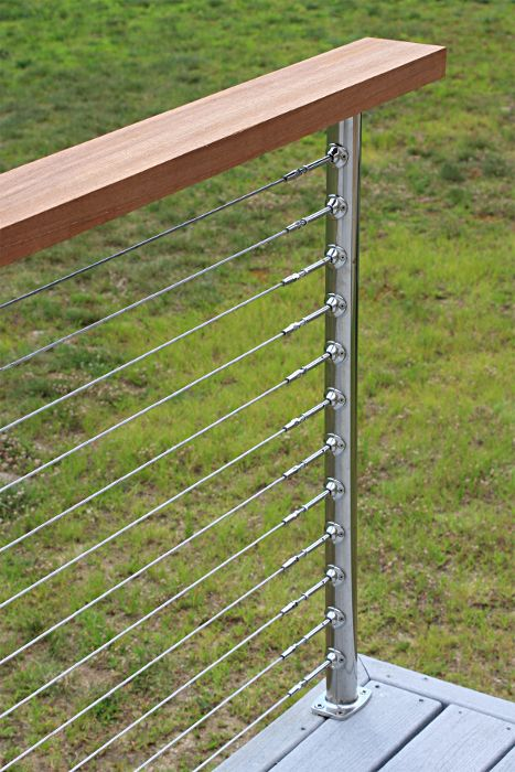 25+ best ideas about Cable Deck Railing on Pinterest