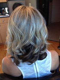 hairstyle dark color on top blond on bottom 1000 ideas ...