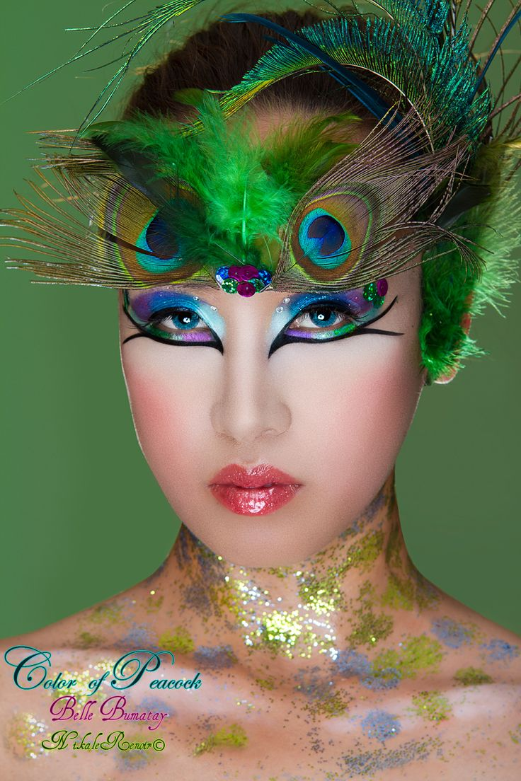 Karneval Pfau 17 Best Images About Peacock Make Up On Pinterest