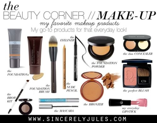 As promised, my daily make up products! I figured that if I was sharing my daily facial products...:
