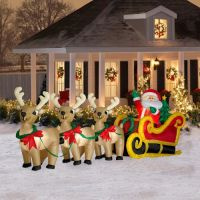 61 best images about Santa Sleigh and Reindeer Outdoor ...